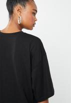 Missguided - Oversized T-shirt dress limited edition - black