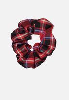 Cotton On - Scrunchie - red & black