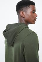 Jack & Jones - Logan sweat hoodie - green