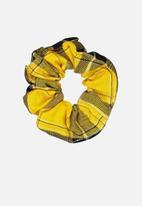 Cotton On - Scrunchie - yellow & black