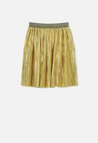Cotton On - Kelis dress up skirt - gold