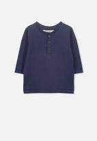 Cotton On - Harry long sleeve tee - navy