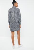 Superbalist - Shift dress - grey & black
