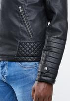 Jack & Jones - New pistol jacket - black