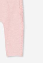 Cotton On - Trixie ruffle legging - pink