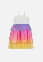 Cotton On - Iris tulle dress - multi