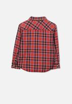 Cotton On - Noah long sleeve shirt - red