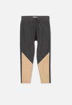 Cotton On - Miles slouch pant - black & beige