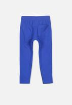 Cotton On - Miles slouch pant - blue & black