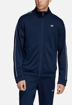 adidas Originals - Samstag tracksuit top - navy & white
