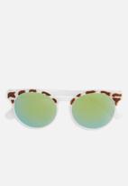 Superbalist - Kids girls round sunglasses - multi