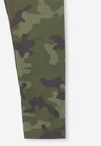 Cotton On - Huggie camouflage tights - green