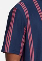 adidas Originals - Samstag tee - navy & red