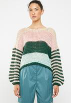 ONLY - Carle longsleeve pullover - multi