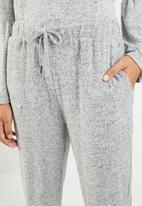 Brave Soul - Drawstring pant - grey