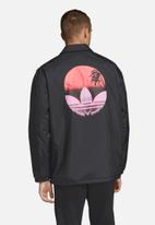 adidas Originals - Tropical coach jacket - black