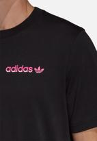 adidas Originals - Tropical crew tee - black