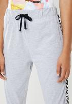 New Look - Being a princess jogger set - white