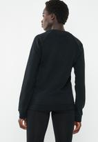 adidas Originals - Trefoil crew sweat - black