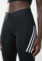 adidas - Ask 3 stripe tight - black