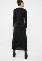 Brave Soul - Knitted maxi dress - black