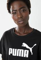PUMA - Essential logo T-shirt dress - black