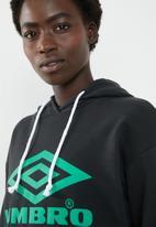 Umbro - Umbro logo hoodie - black