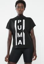 PUMA - XTG graphic T-shirt - black