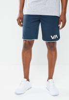 RVCA - Va sport short II - blue