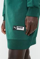 PUMA - TZ long crew - green