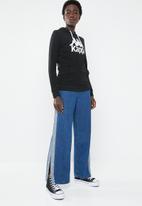 KAPPA - Authetic zimy hoodie - black