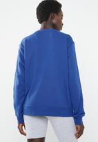 Nike - Nike sweatshirt with tape detail - blue