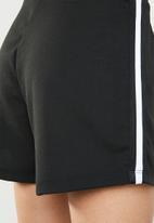 Superbalist - Soft structured short - black