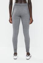 Nike - Fleece tights - grey
