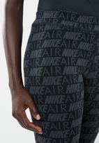 Nike - Nike air leggings - black & grey