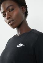 Nike - Club crew flc - black