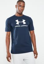 Under Armour - Sportstyle logo tee - navy