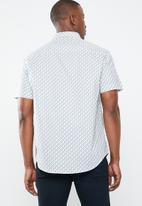 Pringle of Scotland - Mayfield short sleeve styled shirt - multi