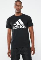 adidas Performance - Bos crew tee - black