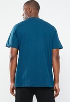 adidas Originals -  Outline crew short sleeve tee - blue & white