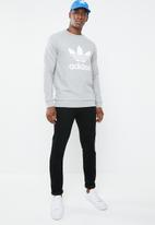 adidas Originals - Trefoil long sleeve crew sweater - grey