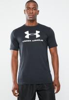 Under Armour - Sportstyle logo tee - black