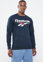 Reebok Classic - Mens vector crew - navy