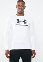 Under Armour - Sportstyle logo tee - white