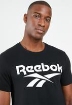 Reebok Classic - Mens vector Tee - black