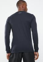 Under Armour - Sportstyle logo long sleeve tee - black