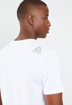 Reebok - Stamped logo tee - white