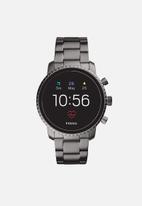 Fossil - Gen 4 smartwatch - explorist HR smoke stainless steel
