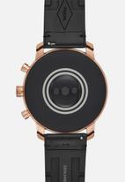 Fossil - Gen 4 smartwatch - explorist HR tan leather