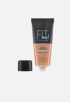 Maybelline - Fit me matte poreless foundation - 350 caramel